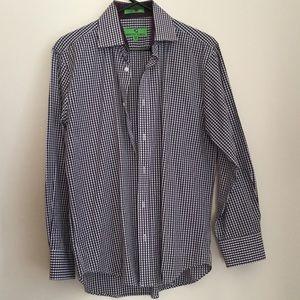 Bristol & Bull Plaid Long Sleeve Shirt (A)